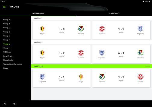 sporza voetbal screenshot 10
