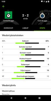 sporza voetbal screenshot 3
