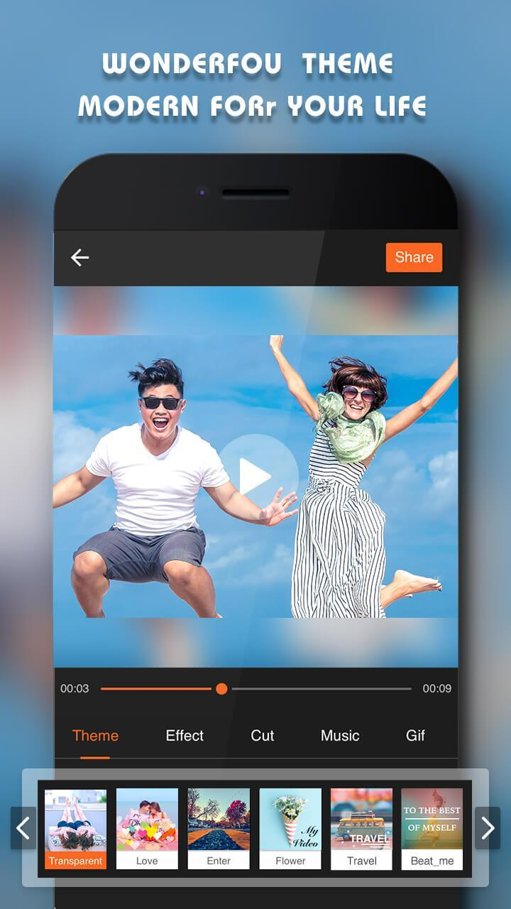 Beauty Video - Music Video Editor & Slide Show for Android