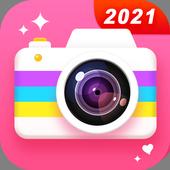 كاميرا الجمال - كاميرا الصور الشخصية مع محرر الصور أيقونة