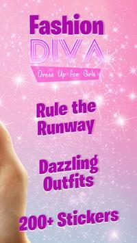 Fashion Diva: Dress Up for Girls screenshot 1