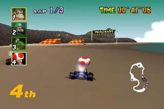 Mariokart 64 Walkthrough screenshot 6