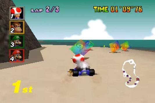 Mariokart 64 Walkthrough screenshot 1