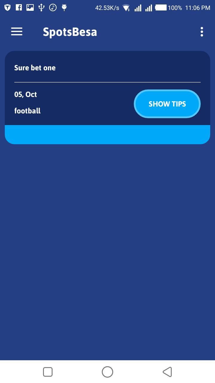 Sportpesa Jackpot Predictions App {Eddie Cheever}