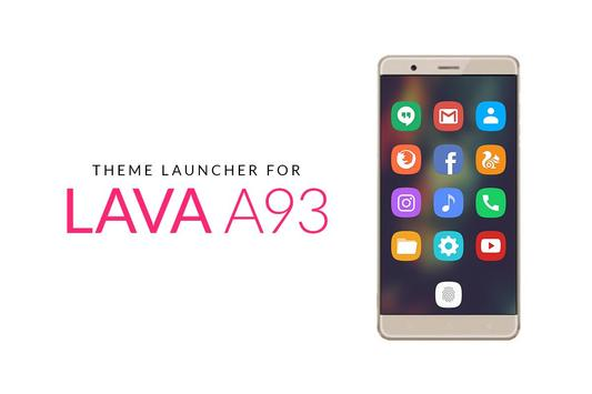 Theme for Lava A93 poster