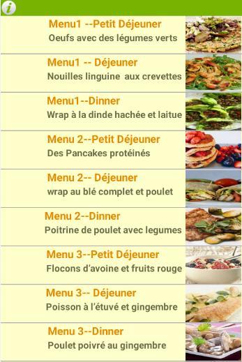 Diet Recettes Perte De Poids Garantie For Android Apk Download