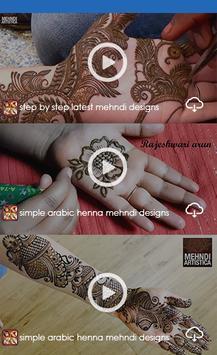 Mehndi Designs 2019  1000+ Mehndi Design & Videos. screenshot 1