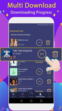 Free Music Downloader + Mp3 Music Download Song screenshot 3