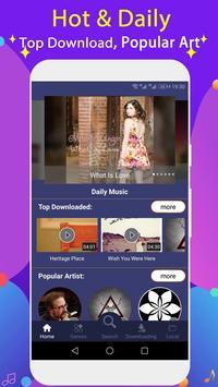 Free Music Downloader + Mp3 Music Download Song screenshot 5