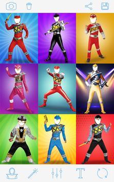 Rangers Costume Photo Montage poster