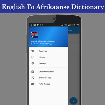 English Afrikaans Dictionary screenshot 19
