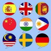 Tradutor de línguas grátis ícone