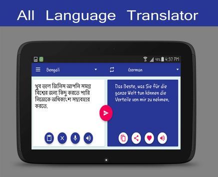 Tradutor de línguas grátis imagem de tela 11