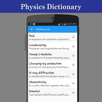 Physics Dictionary screenshot 3
