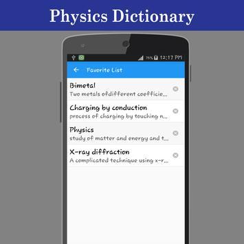 Physics Dictionary screenshot 4