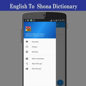 English To Shona Dictionary screenshot 5