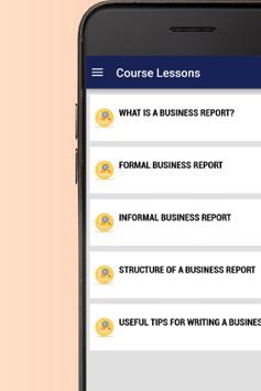 My Business Builder: How to write business reports screenshot 1