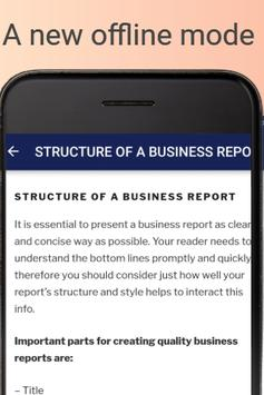 My Business Builder: How to write business reports screenshot 2