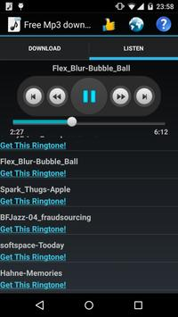 Free Mp3 Downloads screenshot 1
