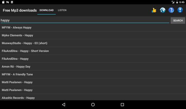 Free Mp3 Downloads screenshot 8