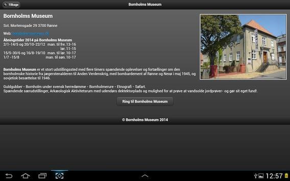 Bornholms Museum screenshot 14