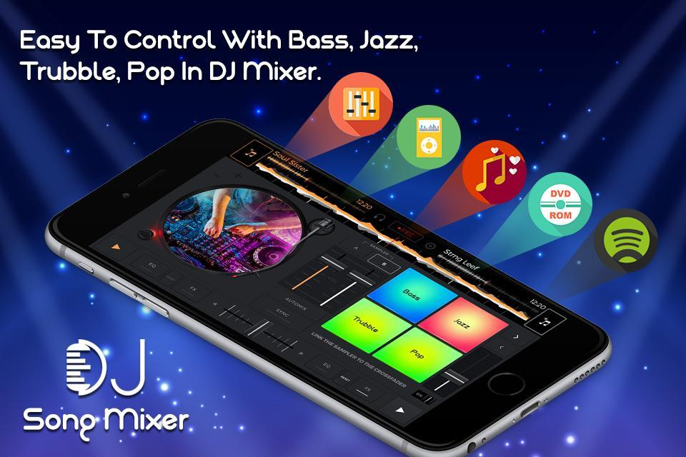 DJ Song Mixer : 3D DJ Mobile Music 2018 for Android - APK