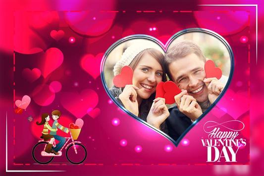 Valentine Day Photo Frame screenshot 4