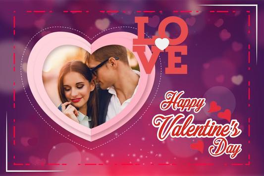 Valentine Day Photo Frame screenshot 5