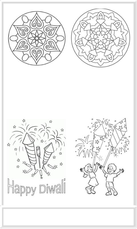 Diwali Colouring Greeting Cards For Android Apk Download