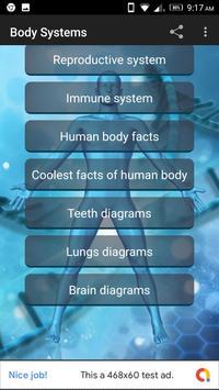 Human Body Anatomy Organ Systems screenshot 1