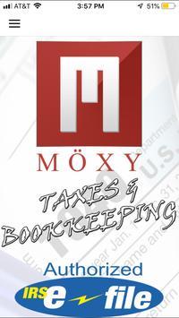 MOXY Tax Service ポスター