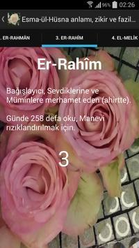 Esma-ül-Hüsna anlamı ve zikir captura de pantalla 6