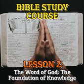 Bible Study Course Lesson 2 icon