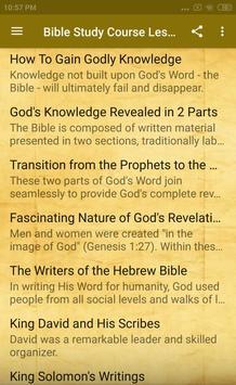 Bible Study Course Lesson 2 screenshot 1