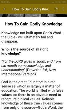 Bible Study Course Lesson 2 screenshot 22