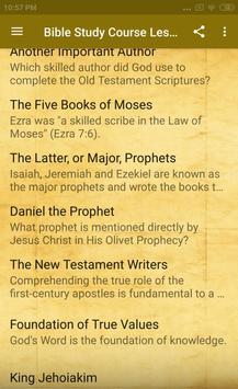 Bible Study Course Lesson 2 screenshot 2
