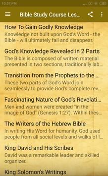 Bible Study Course Lesson 2 screenshot 9