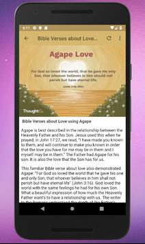 Bible Verses About Love screenshot 2