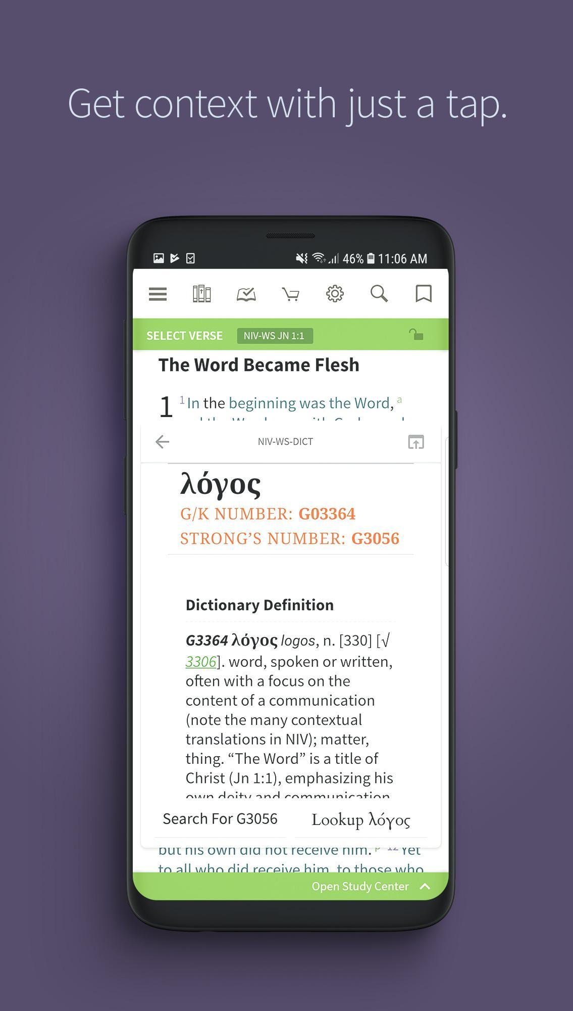 Bible by Olive Tree + KJV, NIV & ESV Free, No Ads for Android - APK