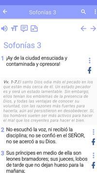 Biblia de estudio screenshot 7