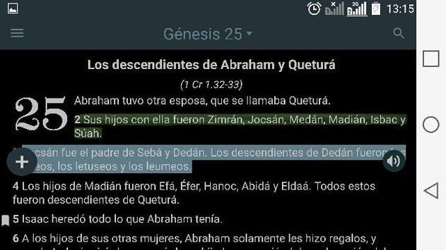 Biblia Dios Habla Hoy DHH ảnh chụp màn hình 9