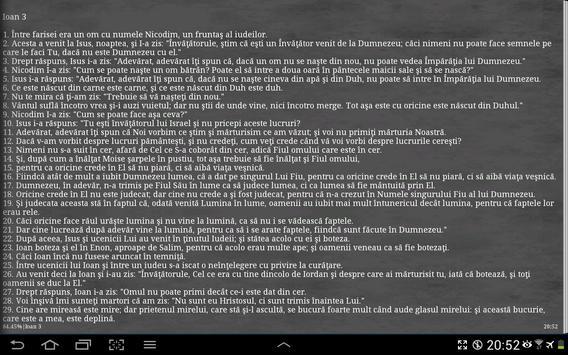 Biblia Cornilescu 截图 10