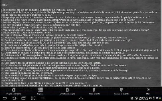 Biblia Cornilescu 截图 11