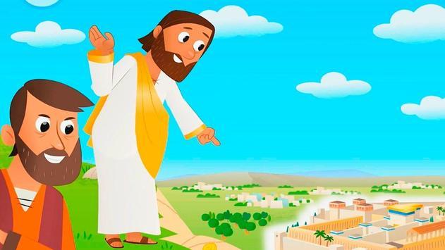 Biblia infantil historias cristianas screenshot 5