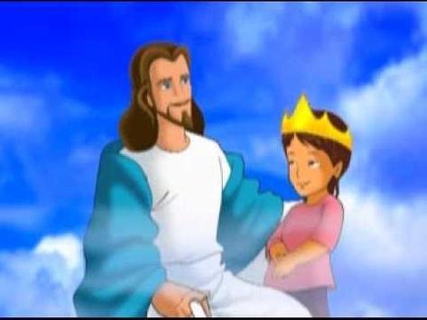 Biblia infantil historias cristianas poster