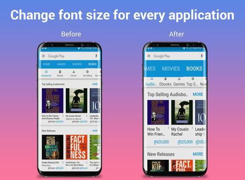BigFont - Font Size Enlarger screenshot 10
