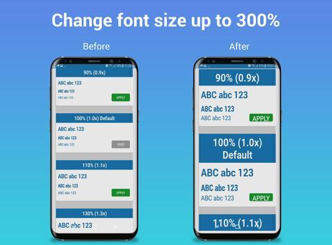 BigFont - Font Size Enlarger screenshot 11