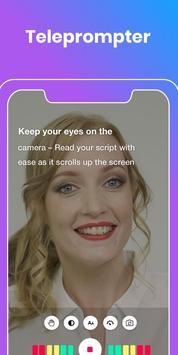 Teleprompter & Video Subtitles - Vlog Maker BIGVU screenshot 1