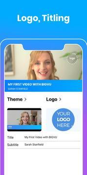 Teleprompter & Video Subtitles - Vlog Maker BIGVU screenshot 3
