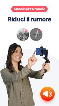 3 Schermata Teleprompter BIGVU - editor di video e didascalie